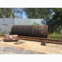 Складские остатки Трубы Б/У, Ду 1220, стенка 10 мм, длина 3320мм. вес 1 тонна