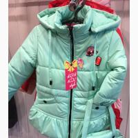Детские демисезонные куртки с сумочкой четыре цвета, возраст 1-4 года