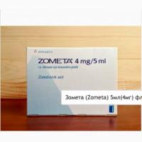 Зомета (Zometa) 5мл(4мг) фл. 1, Novartis (Швейцария) в наличии