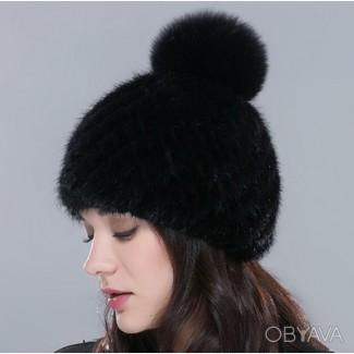 Зимние меховые шапки. Норковая женская шапка