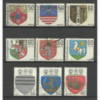 Продам марки Чехословакии 19 шт