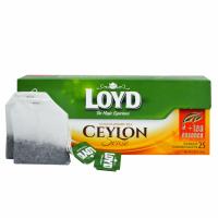 Чай черный Loyd Ceylon Sense пакетированный 25 шт х 2 г