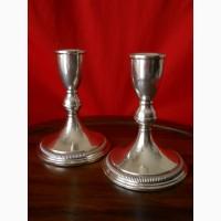 Серебряные подсвечники фирмы Preisner
