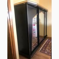 Спальня, шкаф купе, кровать, комод, трюмо с большим с зеркалом