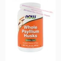 Now Foods, Нау фудс цельная оболочка семян подорожника 680 г. NOW whole psyllium husks