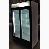 Холодильные шкафы с раздвижными дверями б/у в исправном состоянии