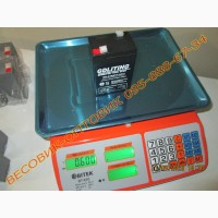 Аккумулятор (АКБ) 6v/6a размер 100х70х45мм для весов, электромобиля, фонариков и т.п