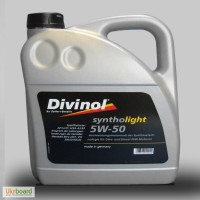 Моторное масло Divinol Syntholight 5W-50