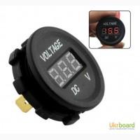 Вольтметр цифровой со световой индикацией уровня заряда батареи