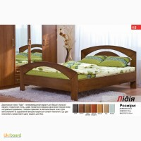 Деревянная кровать Лидия