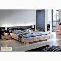 Кровать Аннэт из натурального дерева