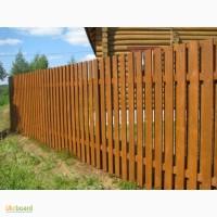 Проветриваемые деревянные заборы