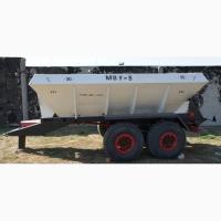 Разбрасыватель удобрений, извести, песка полуприцепной МВУ-8