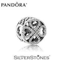 Скидки! Оригинал Pandora Пандора шарм бусина Лепестки любви арт. 791808CZ