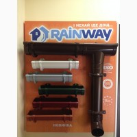 Водосточка Ренвей, водосточная сичтема rainway по акции, ренвей дешево