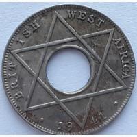 Британская Западная Африка, 1/10 пенни 1941 год СОСТОЯНИЕ