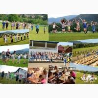 Детский лагерь в Карпатах Карпатська казка