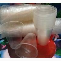 Стаканы пластиковые (500 мл ) 50 штук для рассады