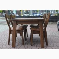 Дубовий стіл та 4 стільці З Німеччини Масив Після реставрації
