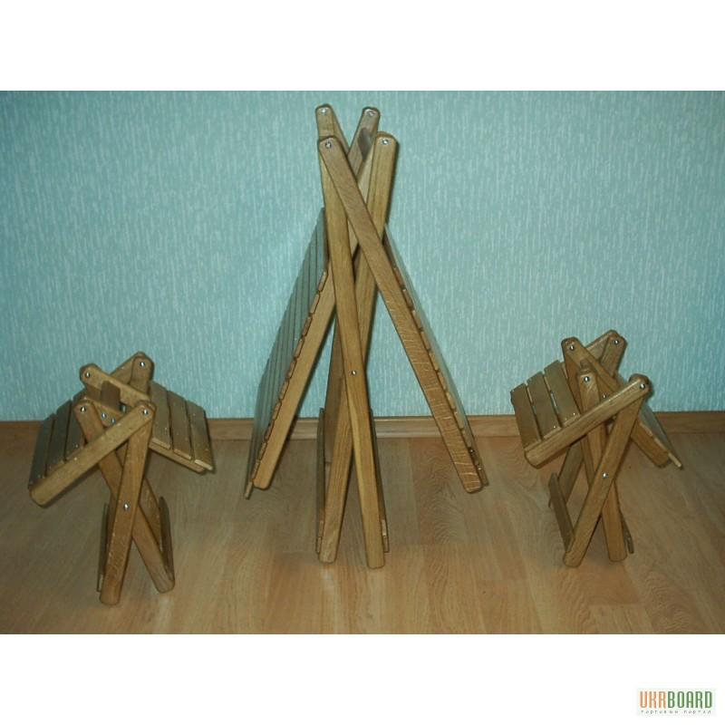 Складные деревянные стол своими руками