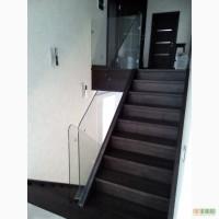 Стеклянные перила для лестниц Киев