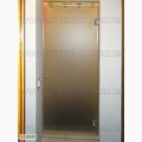 Стеклянные душевые двери