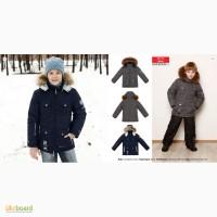 Куртка Baby Line на флисе темно-синяя Z22-14 размер 128-152