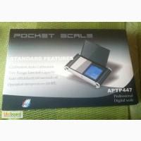 Ювелирные весы APTP 447, сенсорные весы Poket Scale APTP 447