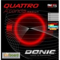 Накладки для тенісної ракетки Donic Quattro Aconda Medium