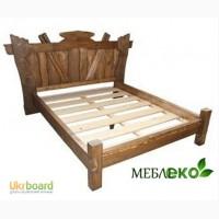 Мебель под старину для спальни, Кровать Вожак
