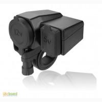 Продам: гнездо / разъём / розетка прикуривателя + USB 5B мото / скутер / мопед / квадро