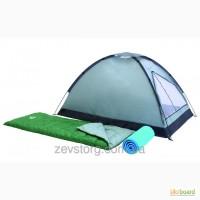 Туристическая 2-х местная палатка+2 спальника+2 каримата