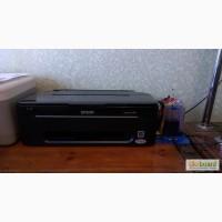 Продам Б/у струйный принтер EPSON s22 с СНПЧ