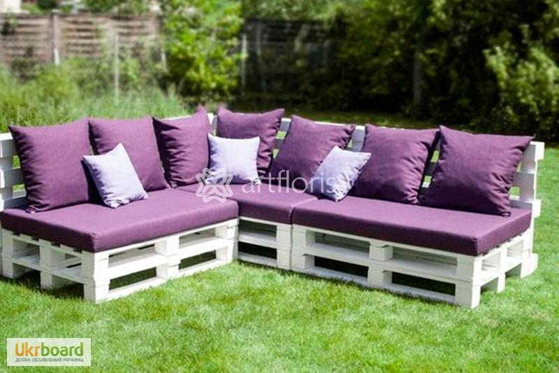 мебель садовая из поддонов фото