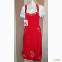 Продам наряд - сарафан красный в комплекте с белой футболкой, новый