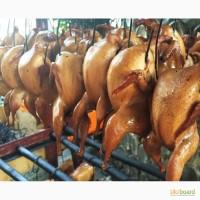 Копченое мясо перепела с домашней фермы