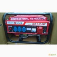 Генератор бензиновый Royal kraft kr 8500w 380V