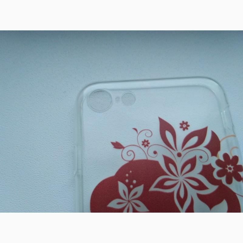 Фото 3. Чехол Бампер силиконовый с принтом на iphone 7