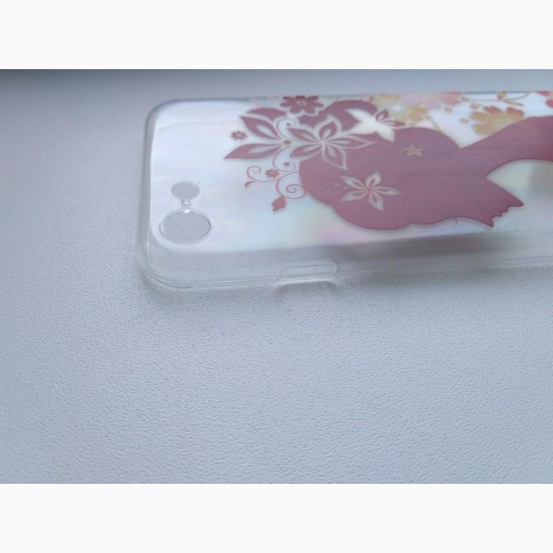 Фото 5. Чехол Бампер силиконовый с принтом на iphone 7
