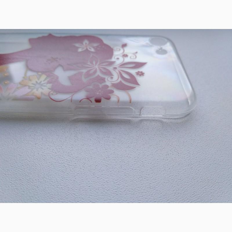 Фото 6. Чехол Бампер силиконовый с принтом на iphone 7