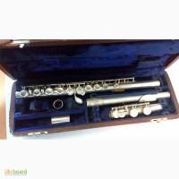 Флейта серебряная Philipp Hammig б/у. Германия (ГДР). Цена 6500 гривен