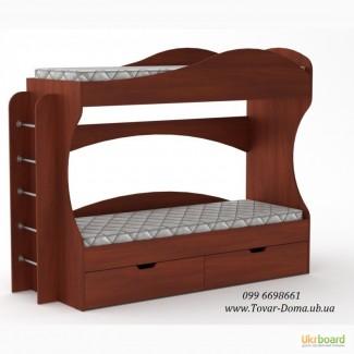 Кровать детская двухъярусная БРИЗ