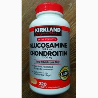 Глюкозамин 1500 мг Хондроитин 1200 мг Kirkland (США)