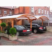 Навесы для автомобиля из профнастила в Киеве и Киевской области