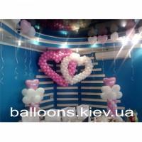 Воздушные шарики в Киеве, шары с гелием купить Киев, доставка шаров