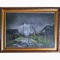 Картина автора Осень-23.00-пастель, 65х50