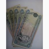 Банкноты стран мира туркменистан