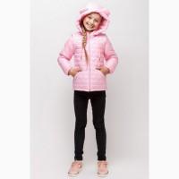 Детская куртка на девочку Love два в одном куртка-жилет 110-140 р разные цвета