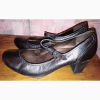 Кожаные туфли Footglove, б/у, 40р