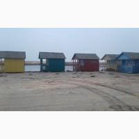 Недорогой отдых на Азовском море. Домики на берегу моря. Арабатская Стрелка, Счастливцево